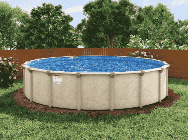 Crafted Coated Top Rails Above Ground Pools