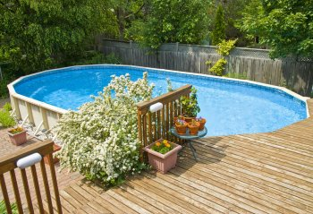 Outdoor Space Around Your Above Ground Pool